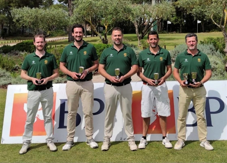 alt:[Oporto Golf Club vence Campeonato Nacional de Clubes Mid-Amateur BPI]